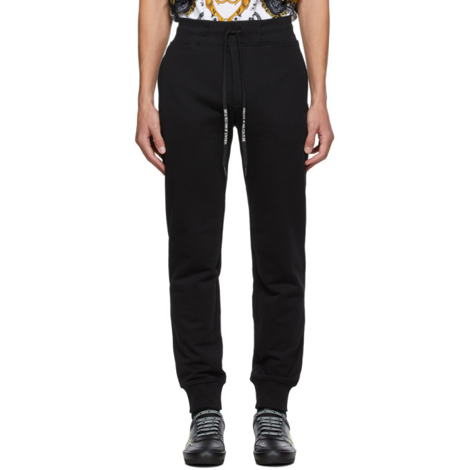 Photo: Versace Jeans Couture Black Warranty Tag Lounge Pants