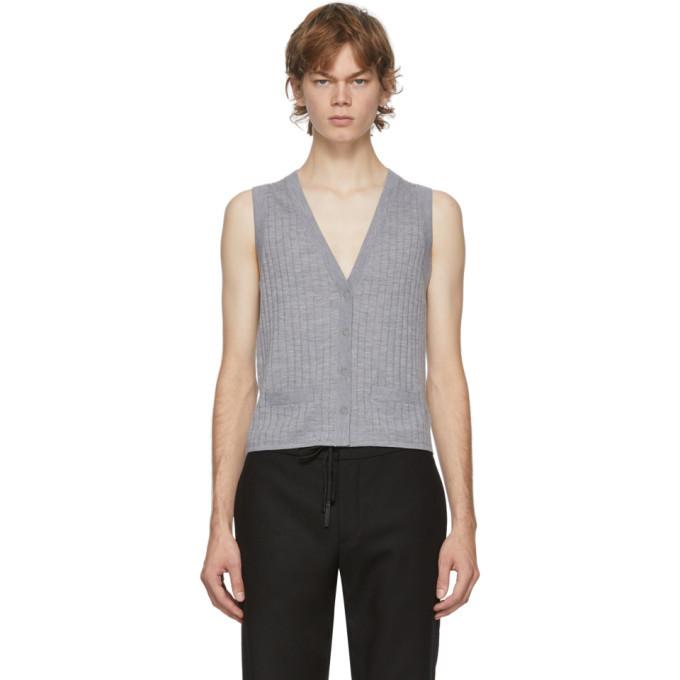 Photo: Dion Lee Grey Wool Vest