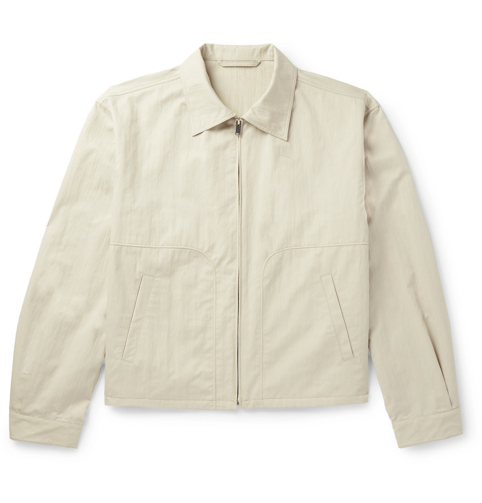 Photo: Lemaire - Cotton-Blend Blouson Jacket - Neutrals