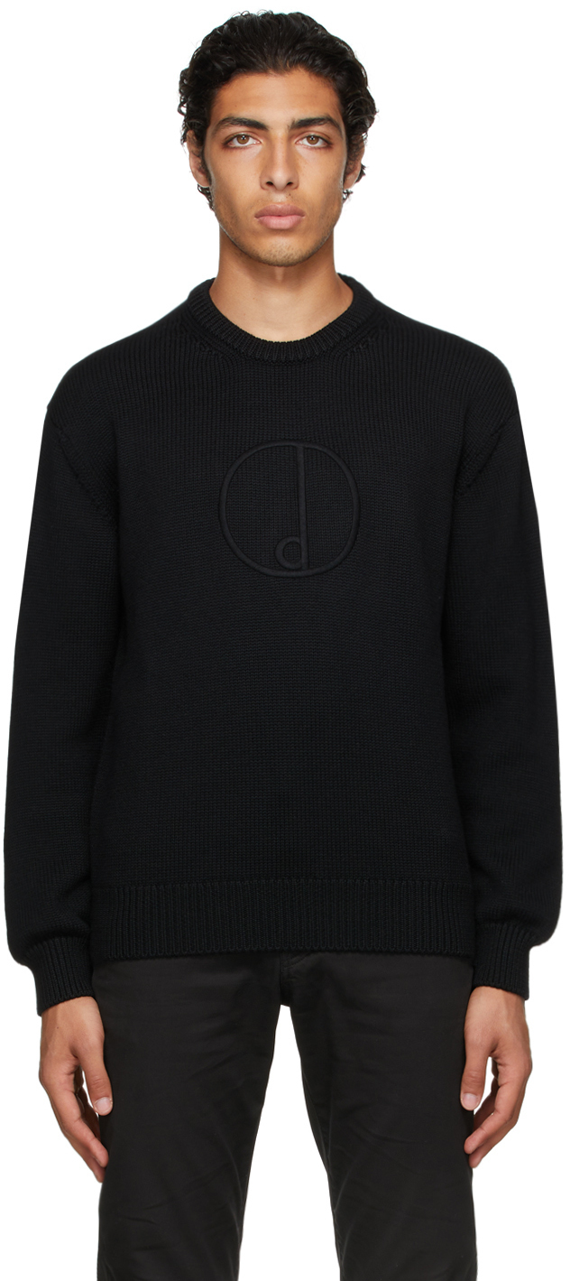 Photo: Dunhill Black 'D' Sweater