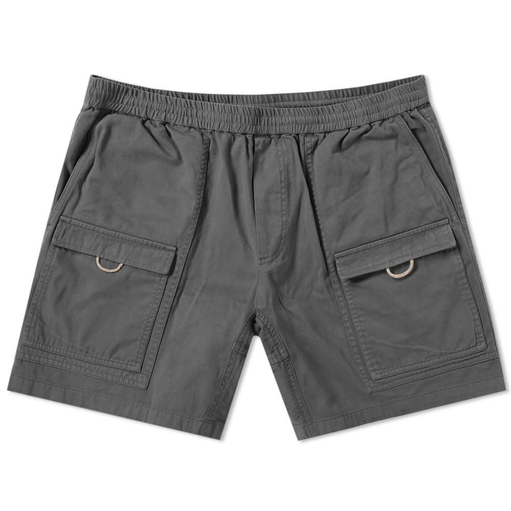 Photo: Acne Studios Rosso Garment Dyed Cargo Short