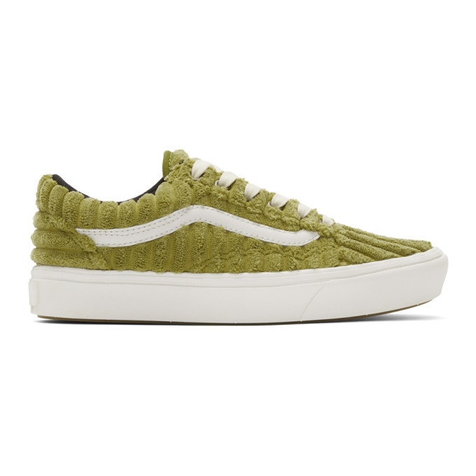 Photo: Vans Green ComfyCush Old Skool Sneakers