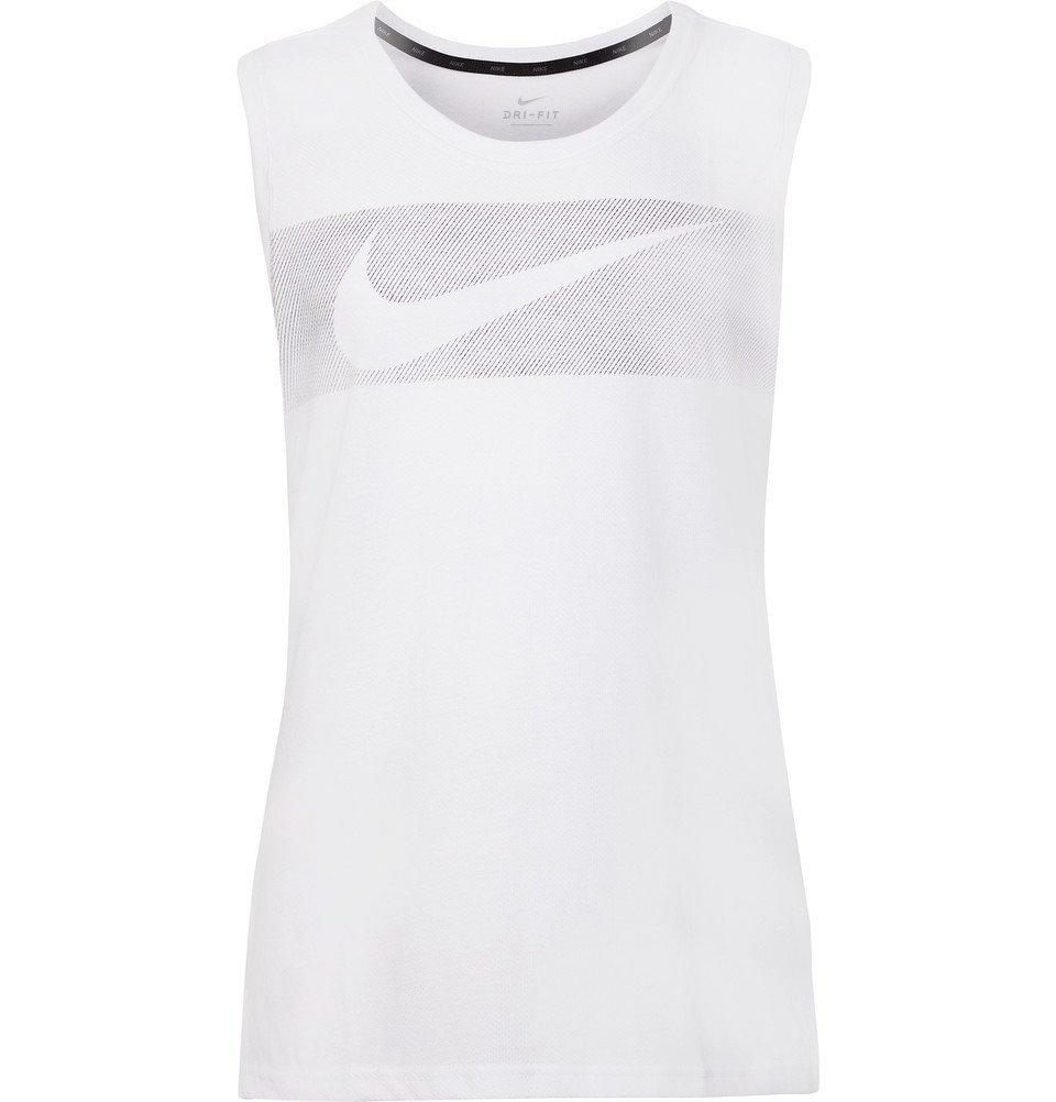 Photo: Nike Training - Breathe Hyper Dry Dri-FIT Tank Top - White