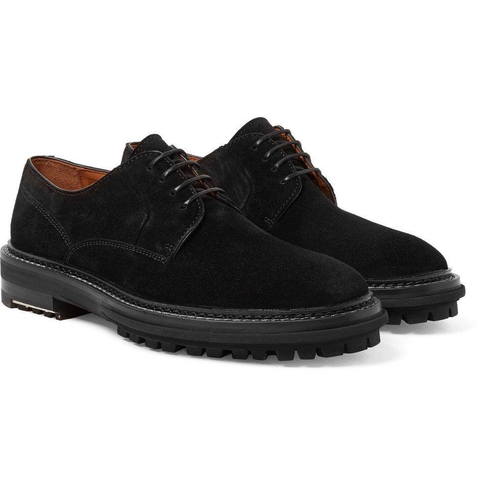 Lanvin - Suede Derby Shoes - Men