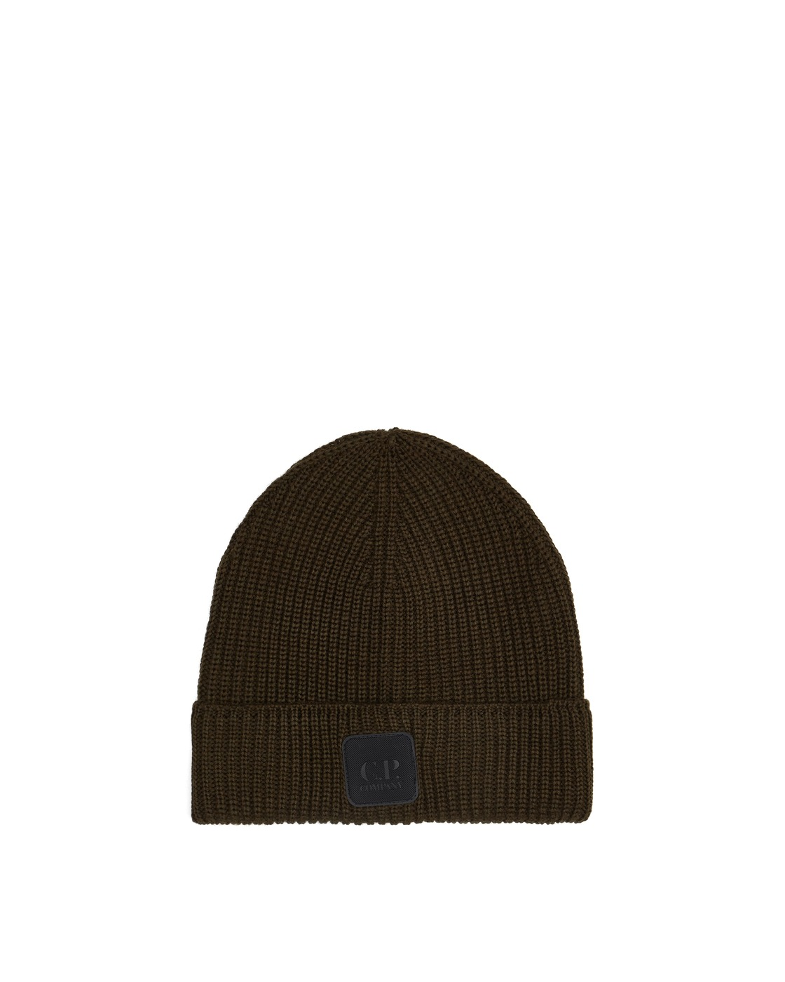 Photo: C.P. Company Logo Badge Beanie Rosin
