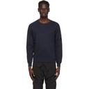 C.P. Company Navy Garment-Dyed Sweatshirt