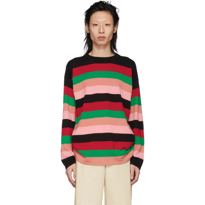 Photo: Loewe Multicolor Stripe Sweater