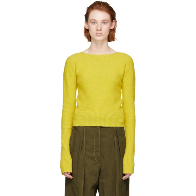 Photo: Lemaire Yellow Fitted Sweater