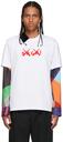 Sacai White KAWS Edition Logo T-Shirt