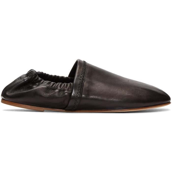 Photo: Acne Studios Black Oy Loafers