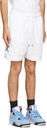 Nike Jordan White Jumpman Diamond Shorts