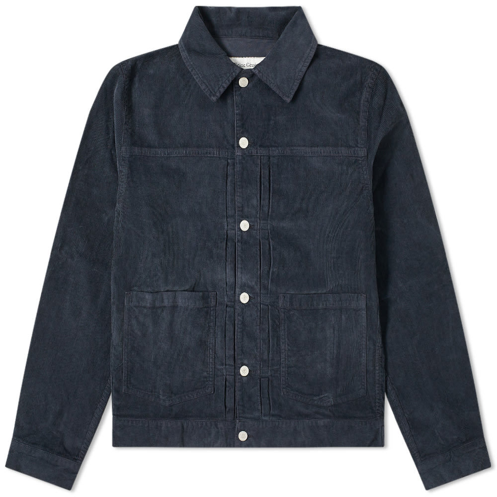 Photo: Officine Generale Leo Corduroy Trucker Jacket