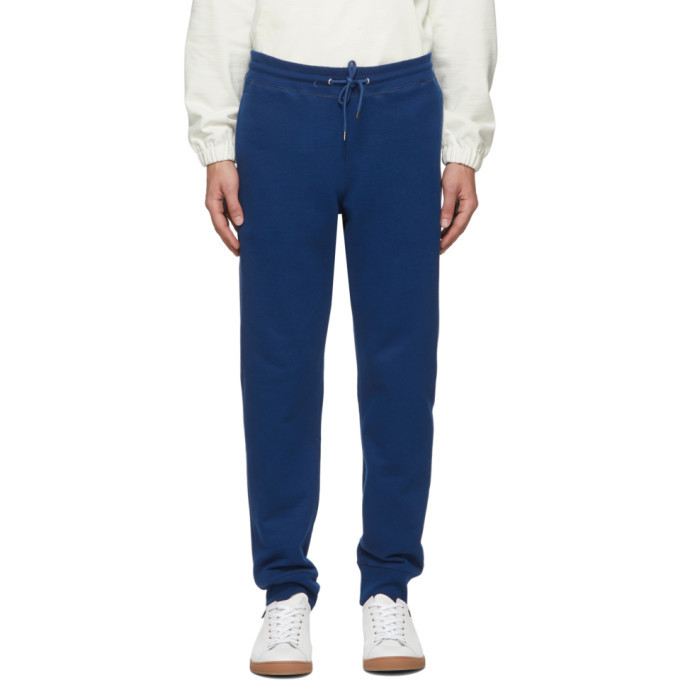 Photo: PS by Paul Smith Blue Regular Jogger Zebra Lounge Pants