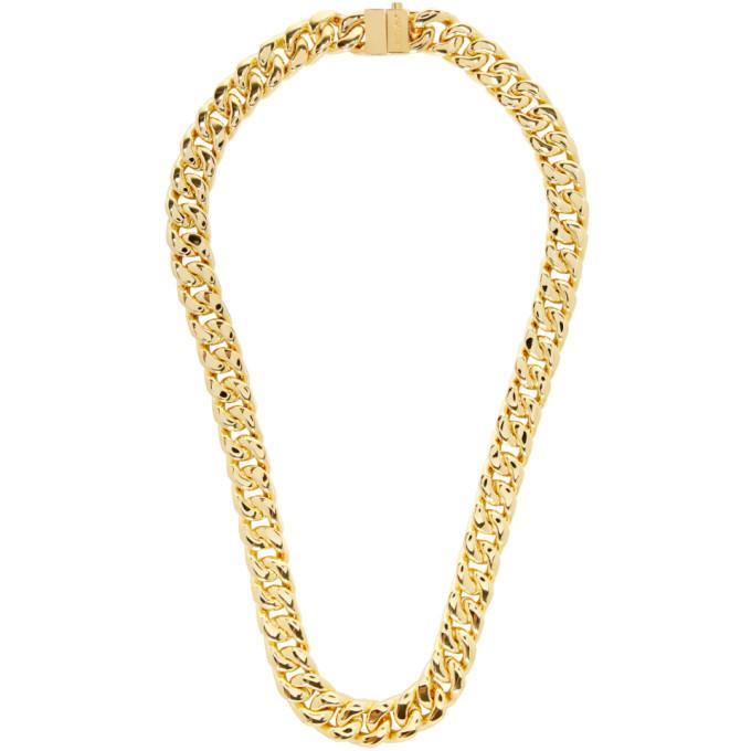 Photo: Ambush Gold Classic Chain 7 Necklace