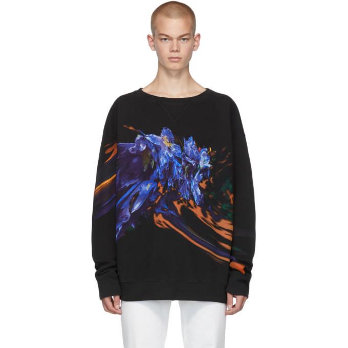 Photo: Maison Margiela Black Graphic Sweatshirt