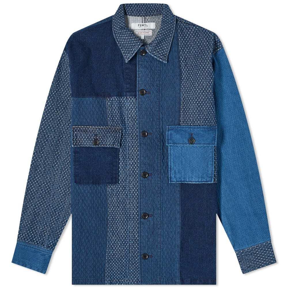 Photo: FDMTL 3Yr Wash Patchwork Shirt Jacket