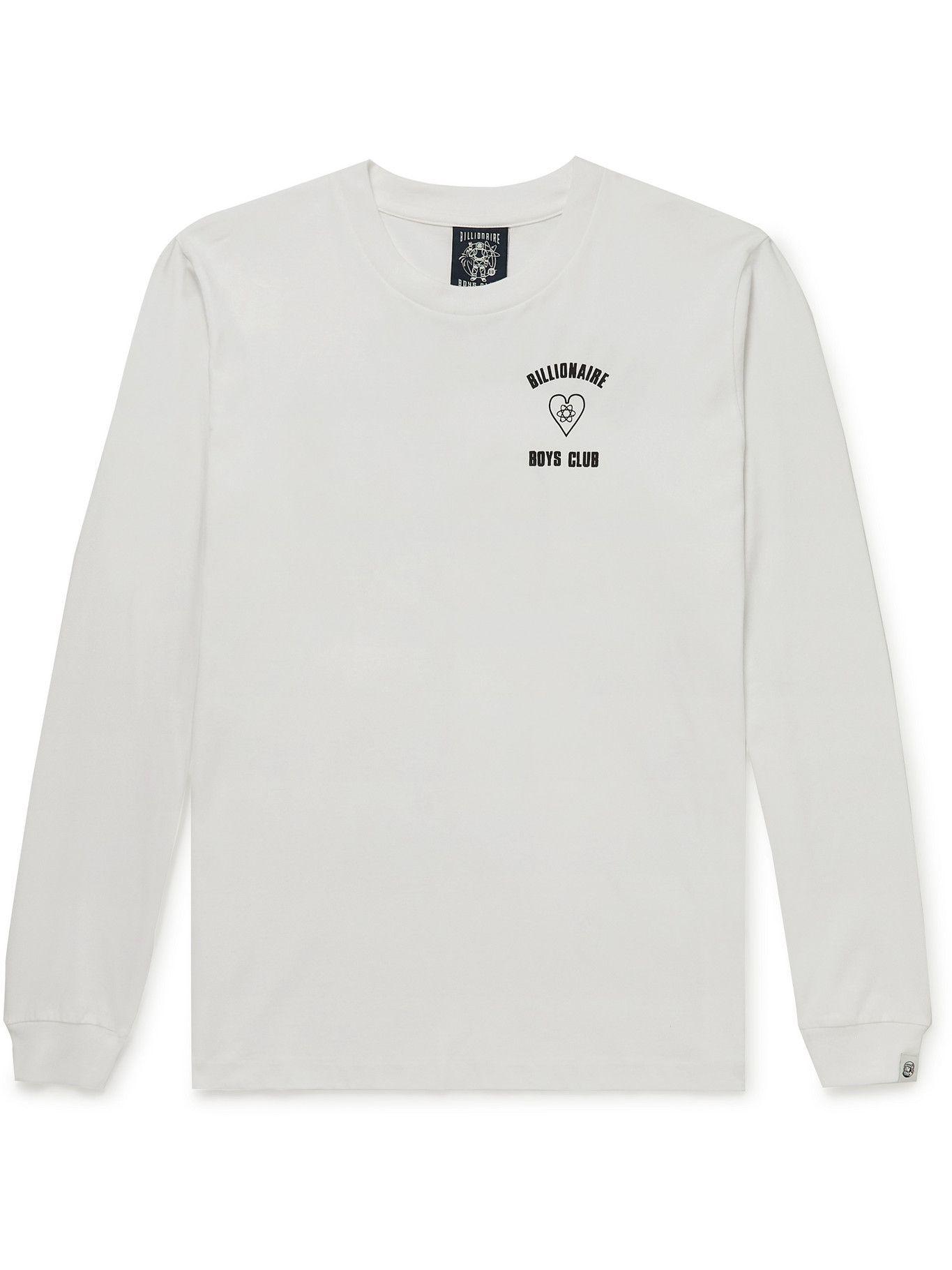 Photo: Billionaire Boys Club - Logo-Print Cotton-Jersey T-Shirt - White
