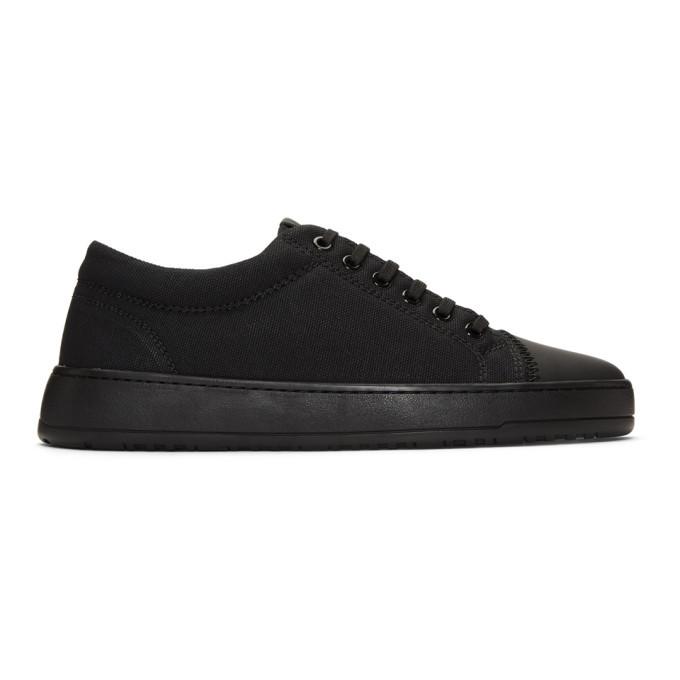 Photo: ETQ Amsterdam Black Kurashiki LT 01 Sneakers