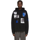 Raf Simons Black Patch Picture Hoodie