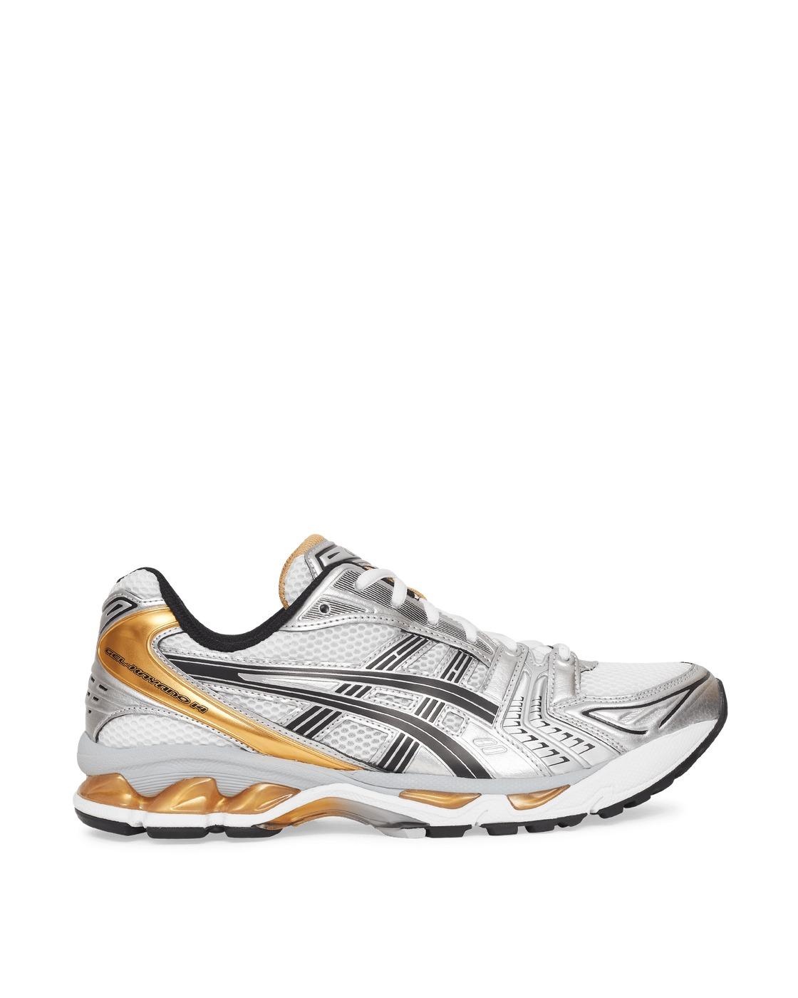 Asics Gel Kayano 14 Sneakers White/Pure Gold