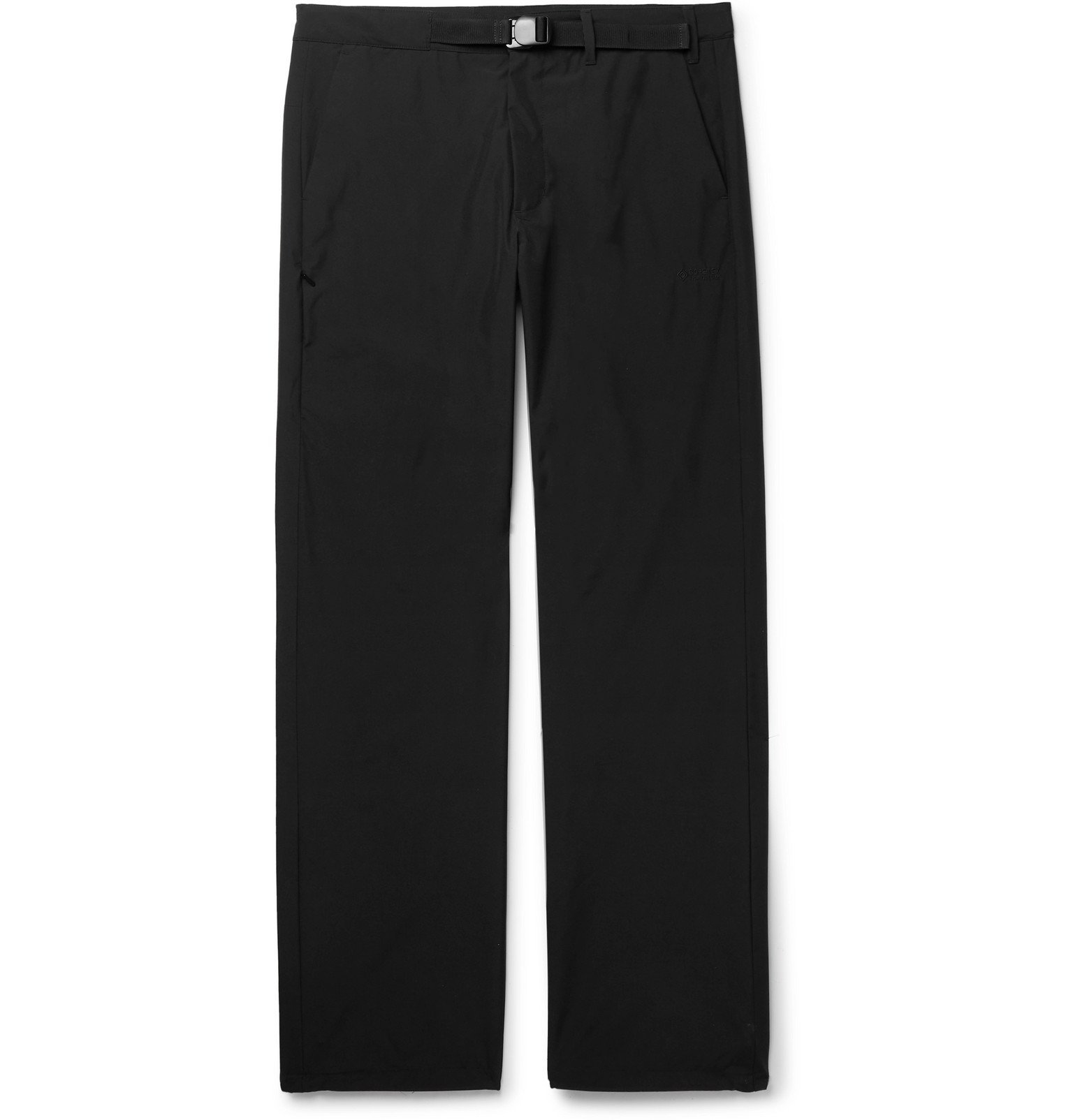 Photo: Norse Projects - Alvar Belted GORE-TEX INFINIUM Trousers - Black