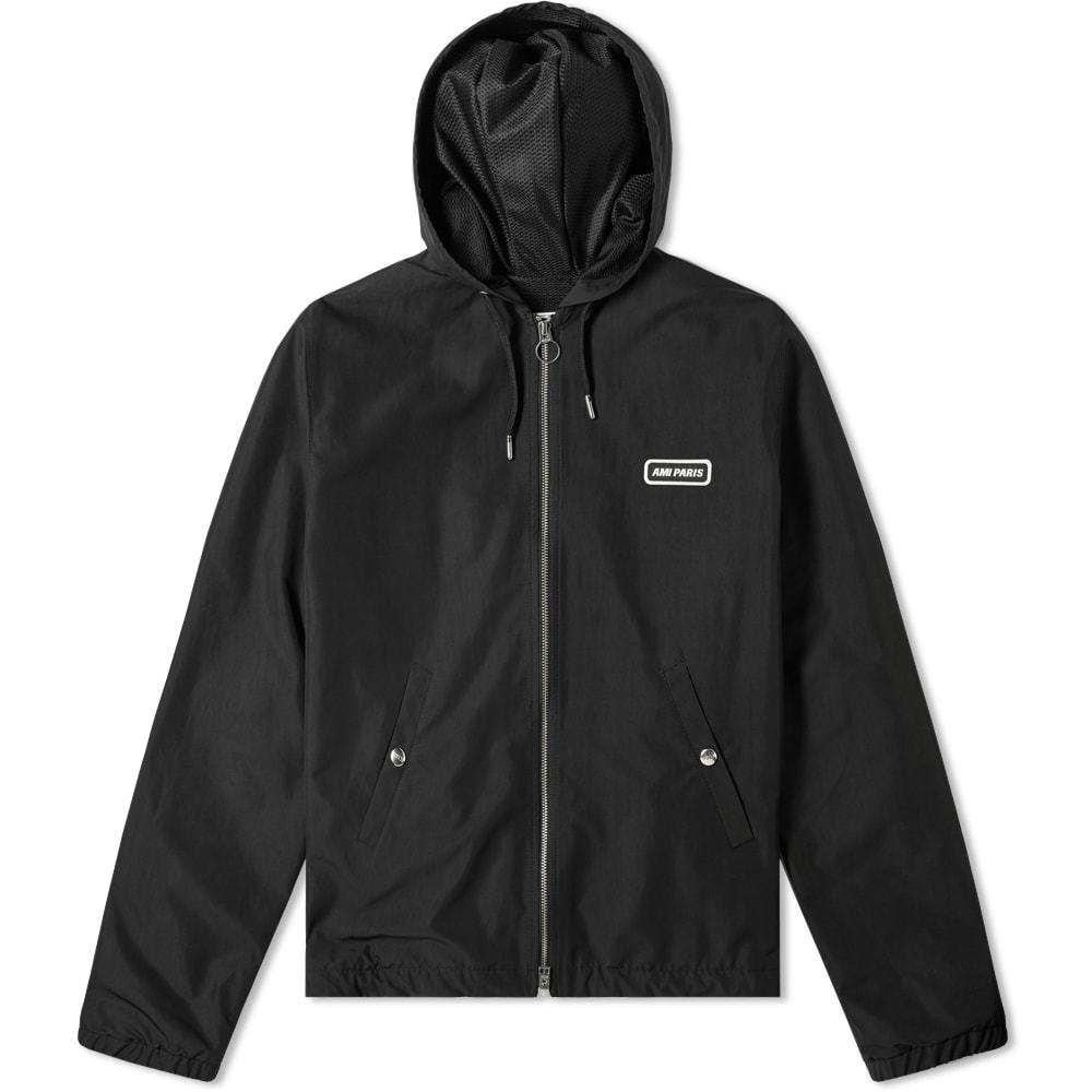 Photo: AMI Paris Zip Hooded Parka