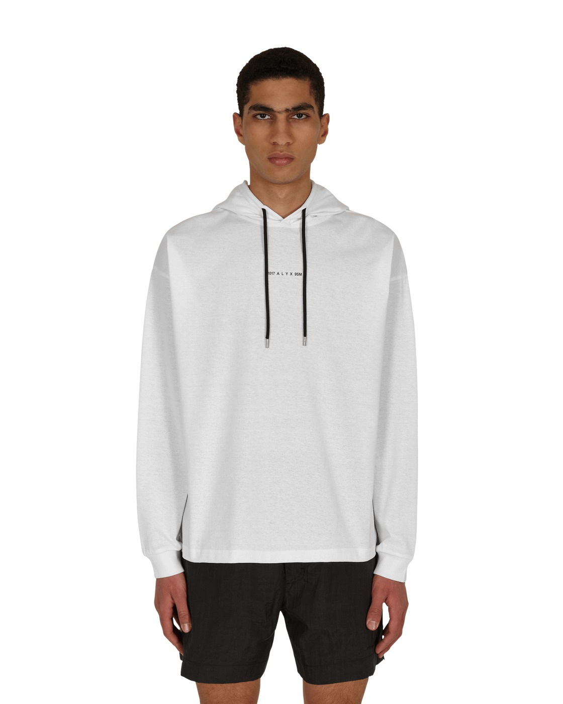 Photo: 1017 Alyx 9sm Visual Hooded Longsleeve T Shirt White