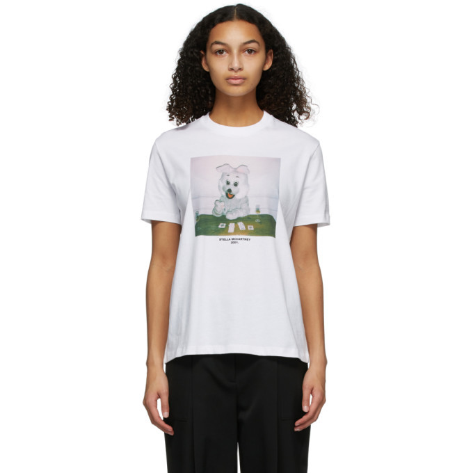Photo: Stella McCartney White Bunny T-Shirt