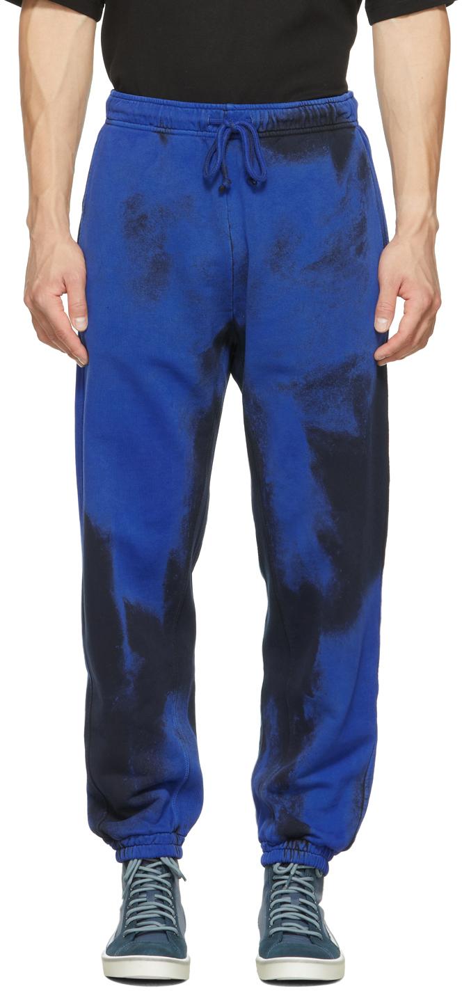 Photo: Diesel Black & Blue P-Calton-Rib-B1 Lounge Pants