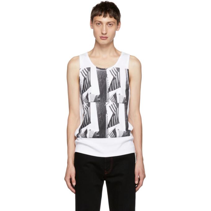 Photo: Calvin Klein 205W39NYC White Andy Warhol Tank Top