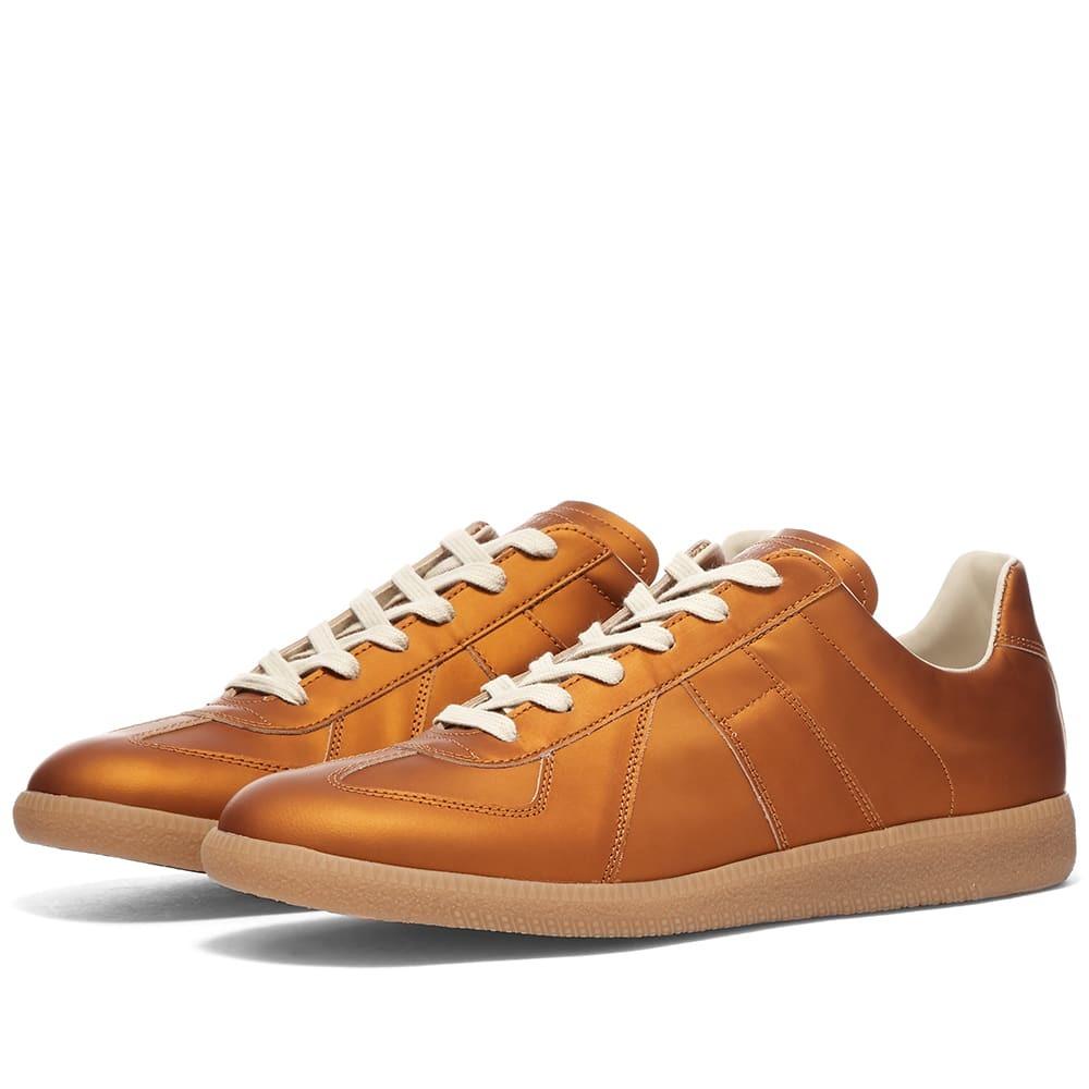 Photo: Maison Margiela 22 Metallic Replica Low Sneaker
