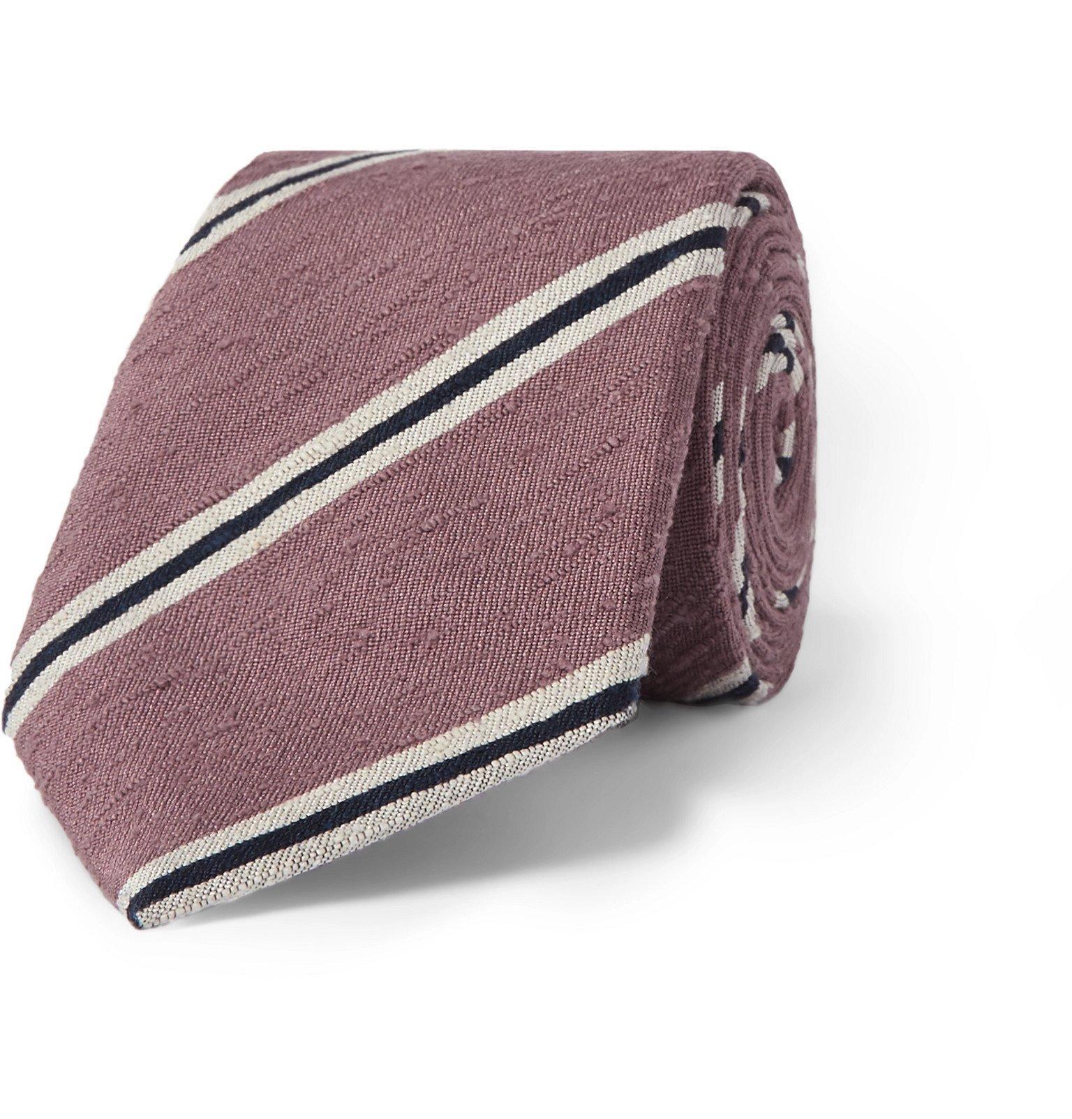 Photo: Richard James - 7cm Silk-Shantung Tie - Pink