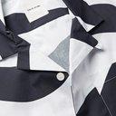 Wood Wood - Brandon Camp-Collar Striped Organic Cotton-Poplin Shirt - White
