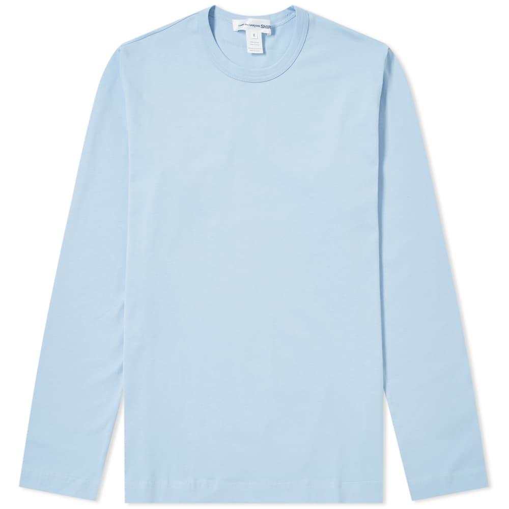 Photo: Comme des Garcons SHIRT Long Sleeve Logo Tee
