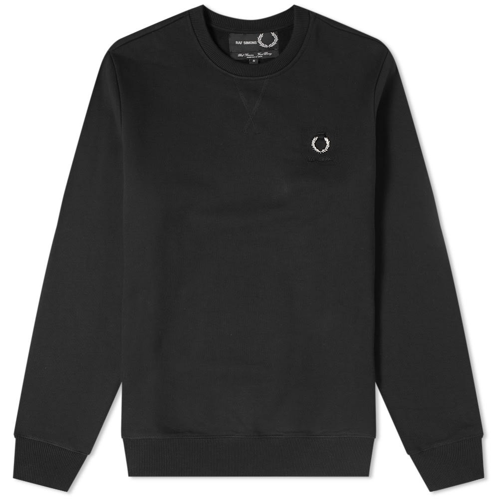 Photo: Fred Perry x Raf Simons Laurel Detail Crew Sweat