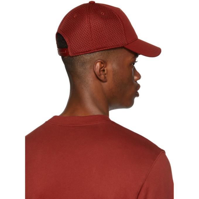 Y-3 Red Logo Trucker Cap