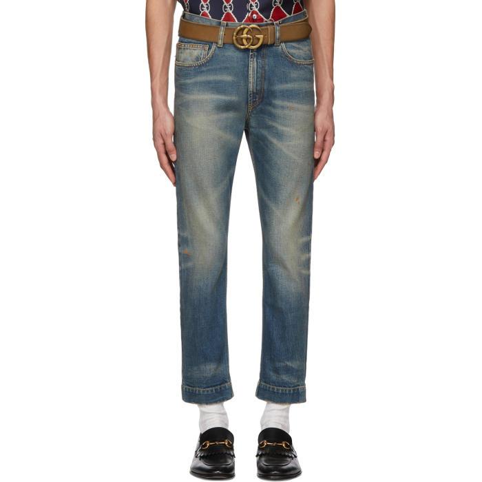 Photo: Gucci Blue Stonewash Sixties Jeans
