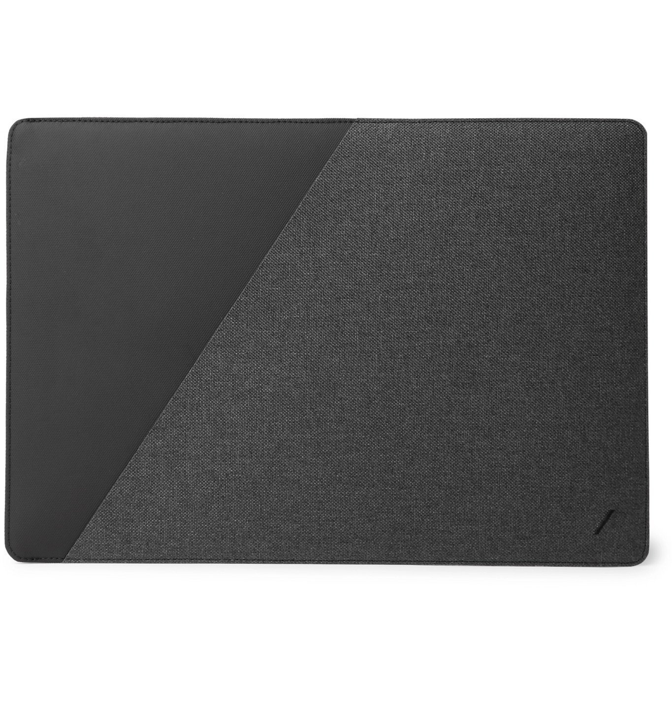 Photo: Native Union - Stow Slim Canvas Laptop Case - Gray