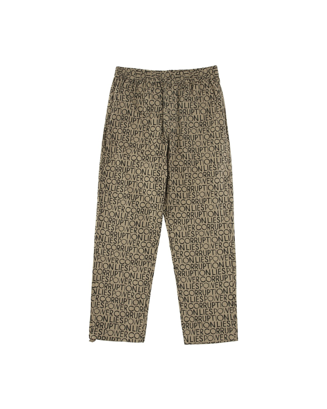 Photo: Wood Wood Halsey Trousers Taupe Aop