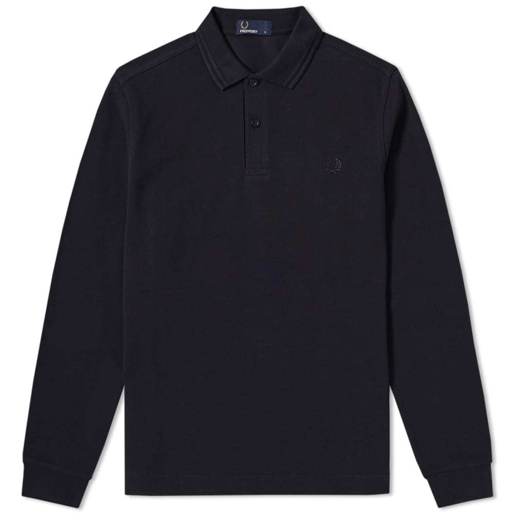 Photo: Fred Perry Long Sleeve Twin Tipped Polo