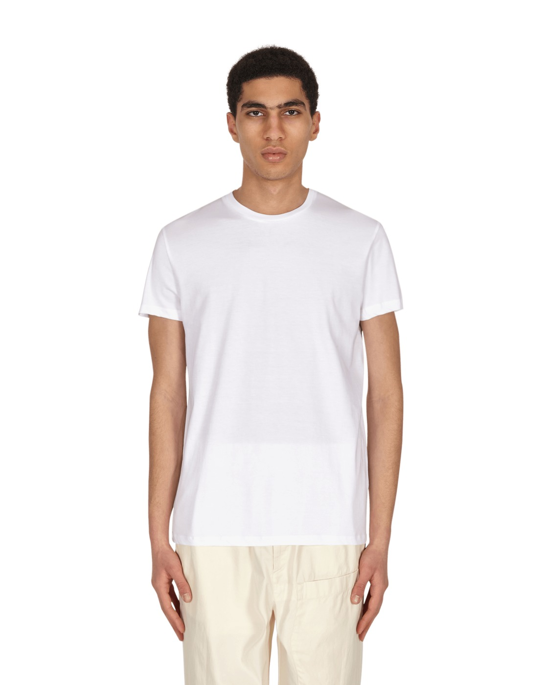 Photo: Jil Sander Basic T Shirt White