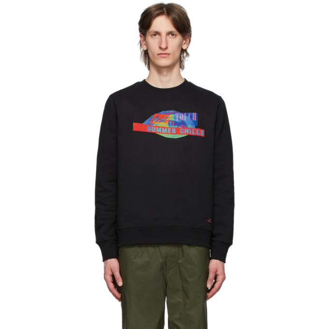 Photo: PS by Paul Smith Black Acid Touch Sweatshirt