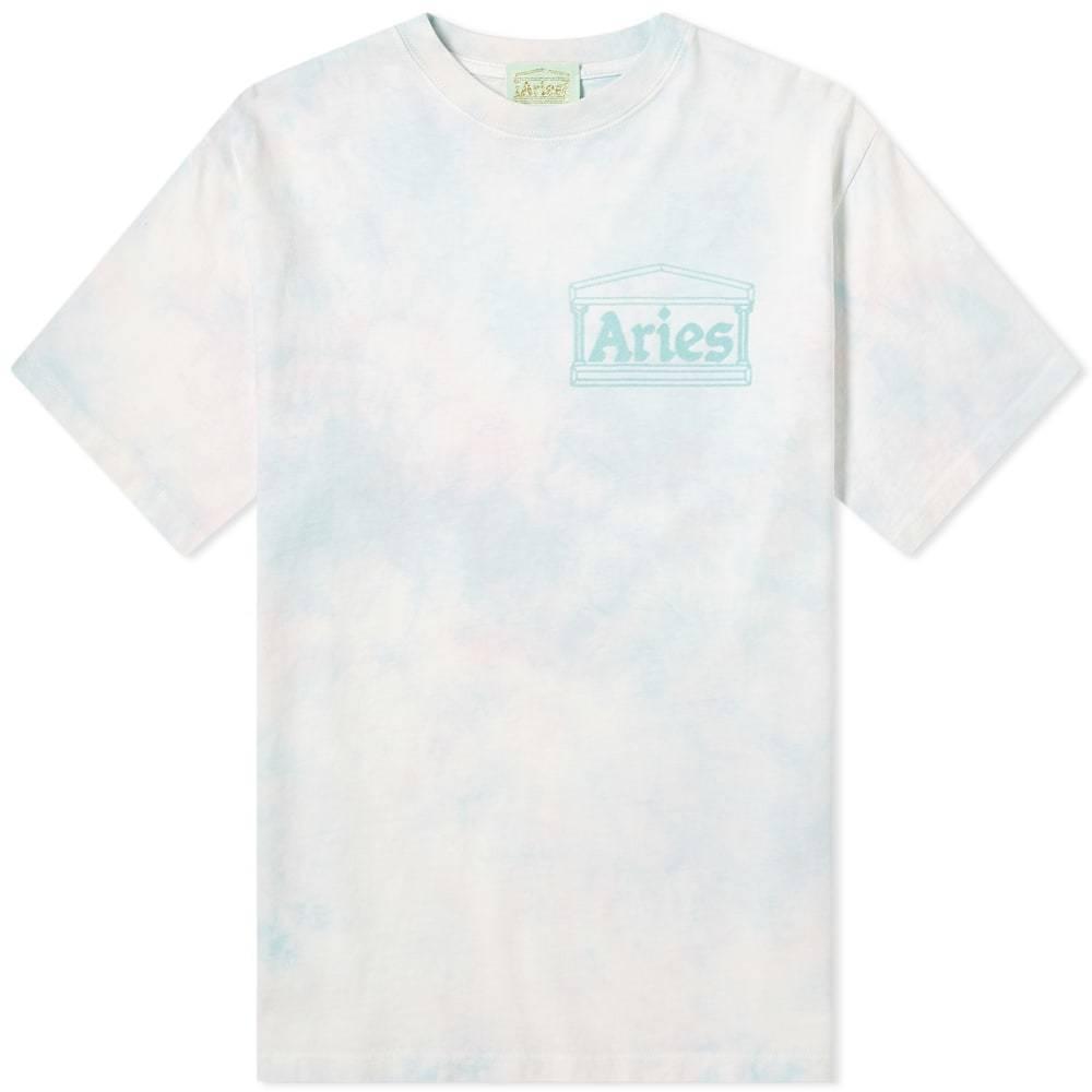 Aries Tie-Dye Temple Logo Tee