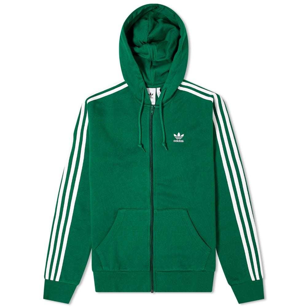 Photo: Adidas 3-Stripe Full Zip Hoody