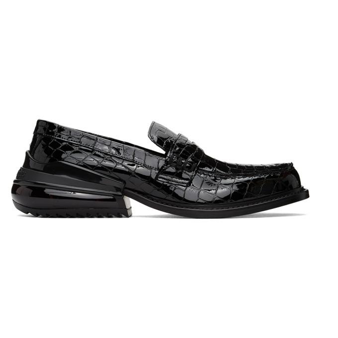 Photo: Maison Margiela Black Croc Airbag Loafers