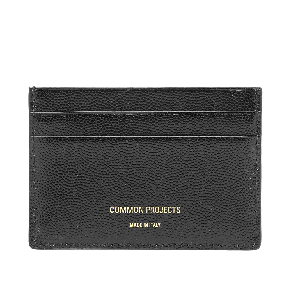 Common Projects Grain Leather Multi Card Holder