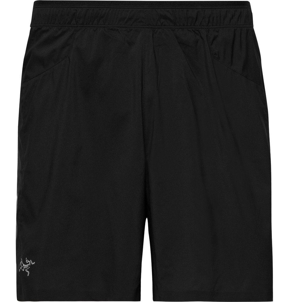 Photo: Arc'teryx - Adan Invigor Shell Shorts - Men - Black