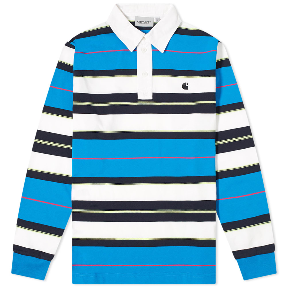 Photo: Carhartt WIP Long Sleeve Morgan Rugby Shirt