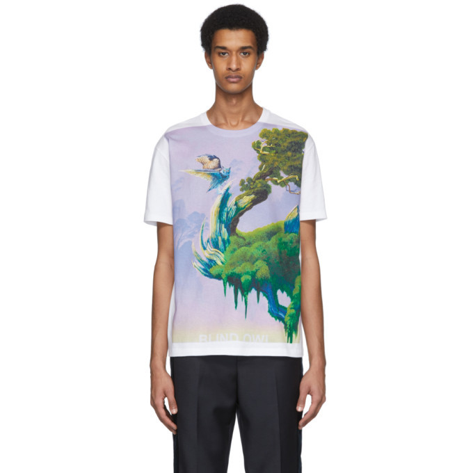Photo: Valentino White Blind Owl T-Shirt