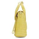3.1 Phillip Lim Yellow Croc Mini Pashli Satchel